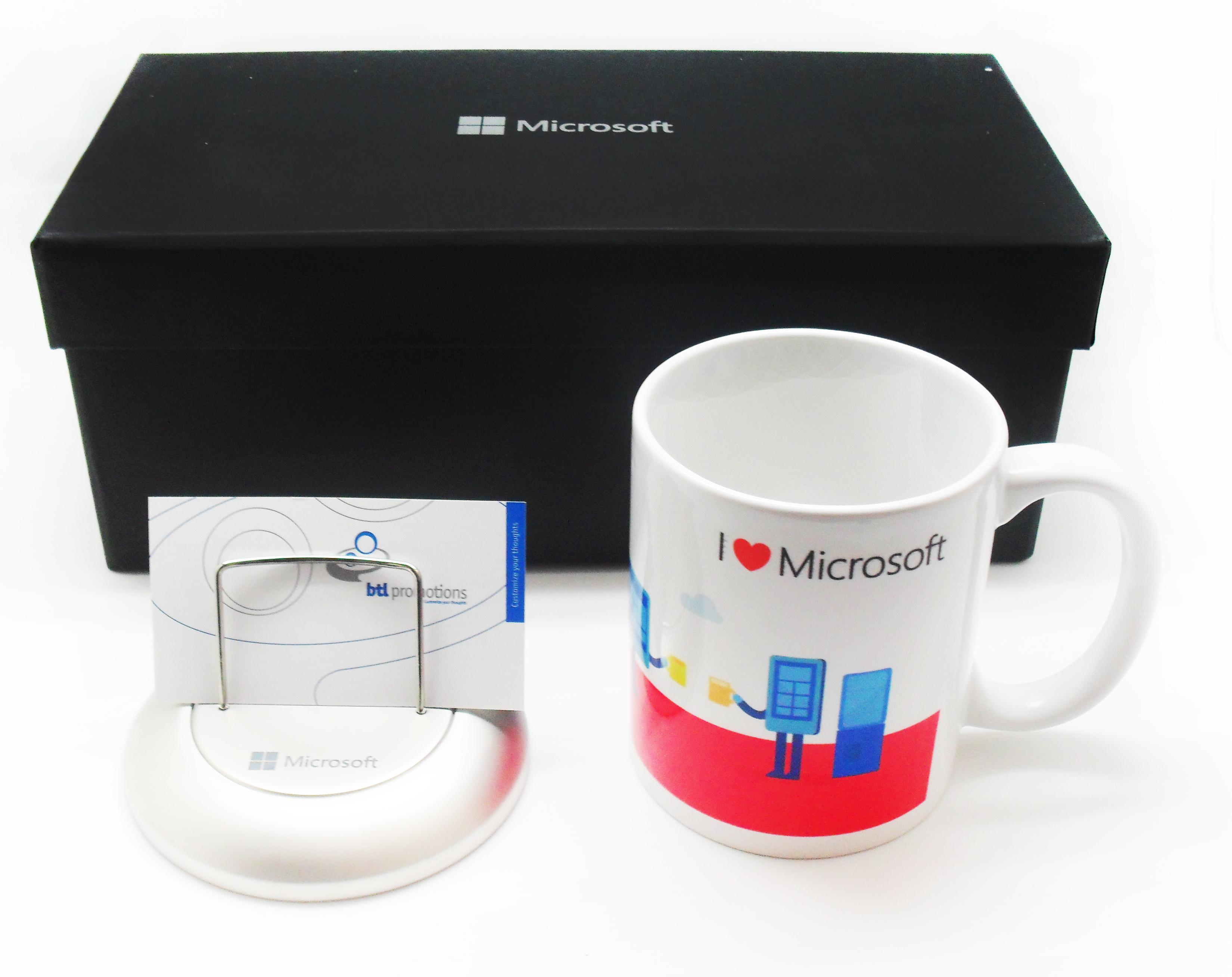 Mug With Card Holder